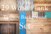 Wood Plank Texture backgrou-Graphicriver中文最全的素材分享平台