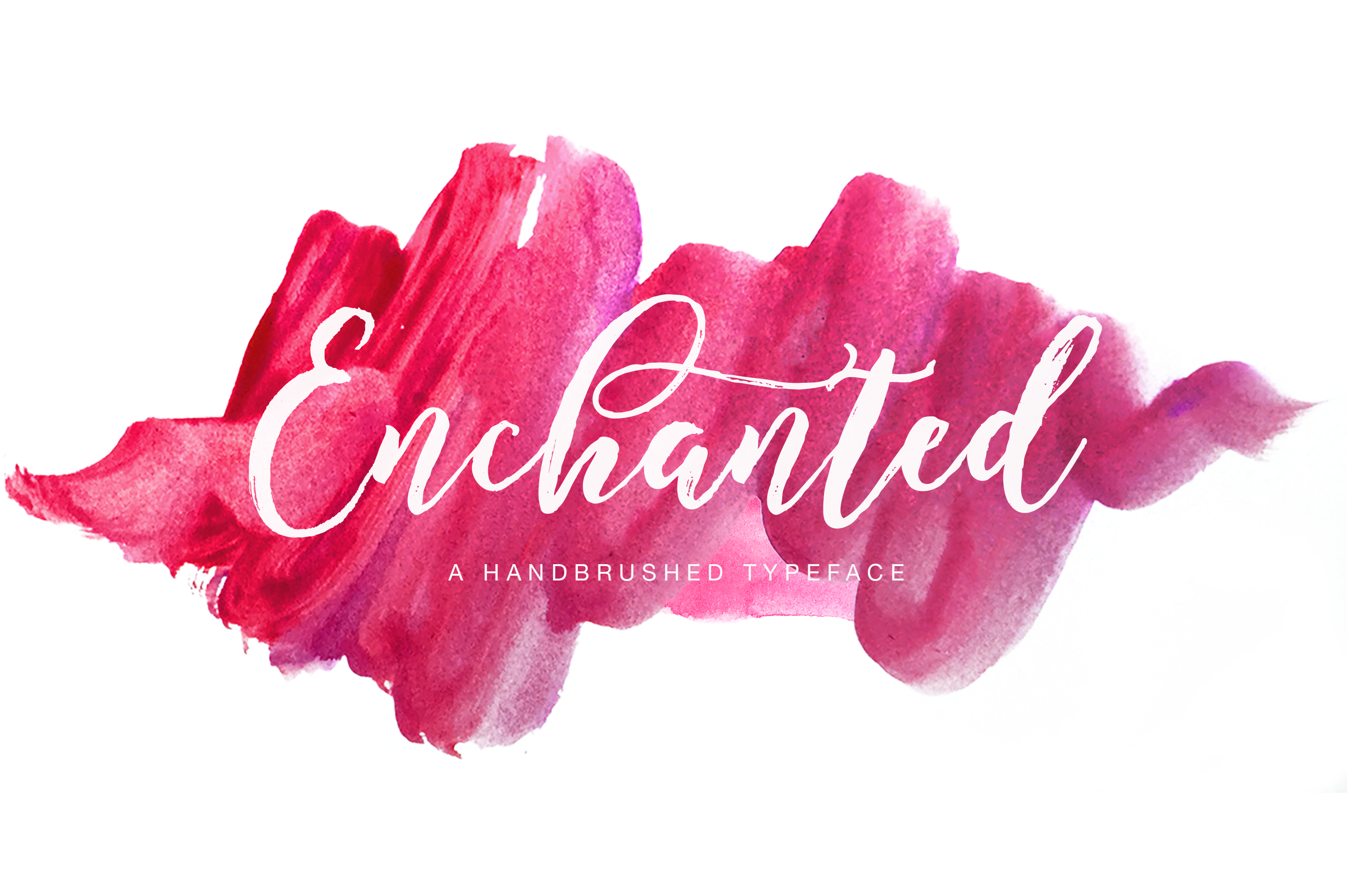 enchanted1-o O Hand Lettering Templates on modern calligraphy, alphabet practice, drawing guide for, printable alphabets, drawn fonts, love quotes,