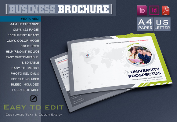 College University Brochure Template 621898 - Heroturko Download