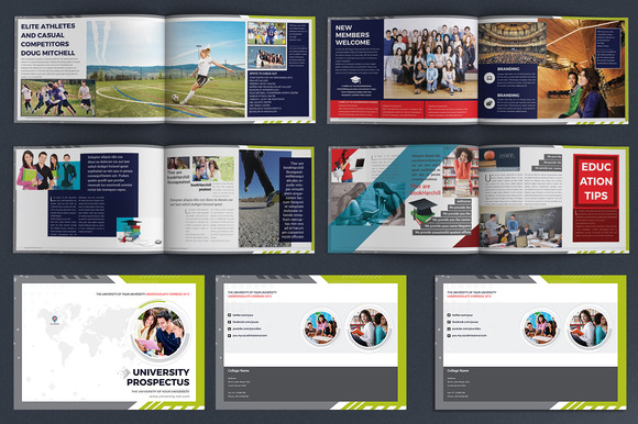 College University Brochure Template   Heroturko Download