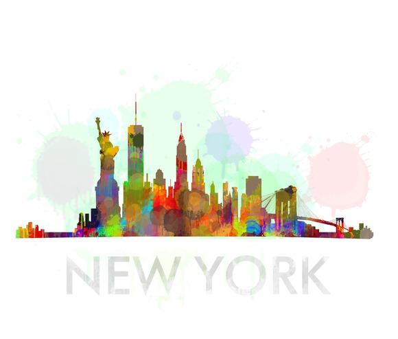 NYC New York Cityscape Skyline