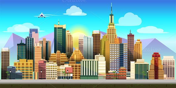 City Game Background