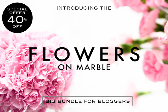 40%OFF Styled Photos Flowers Edition