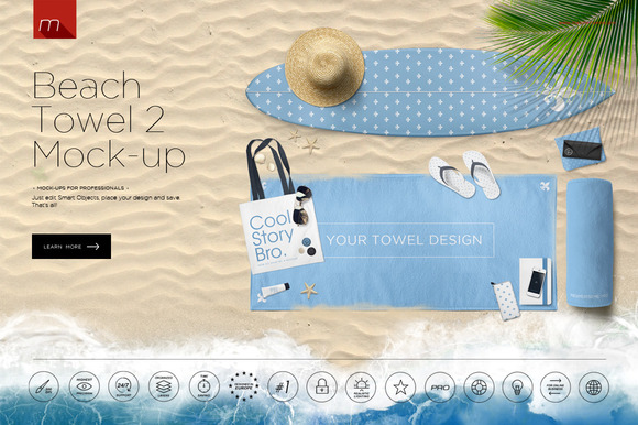 CM - Beach Towel 2 Hero Image Mock-up 628652