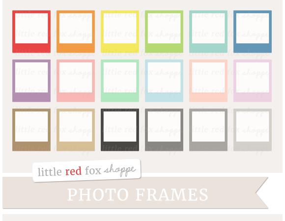 Polaroid Frame Clipart