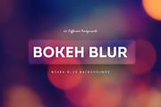 Bokeh Blur  Backgrounds 漂-Graphicriver中文最全的素材分享平台