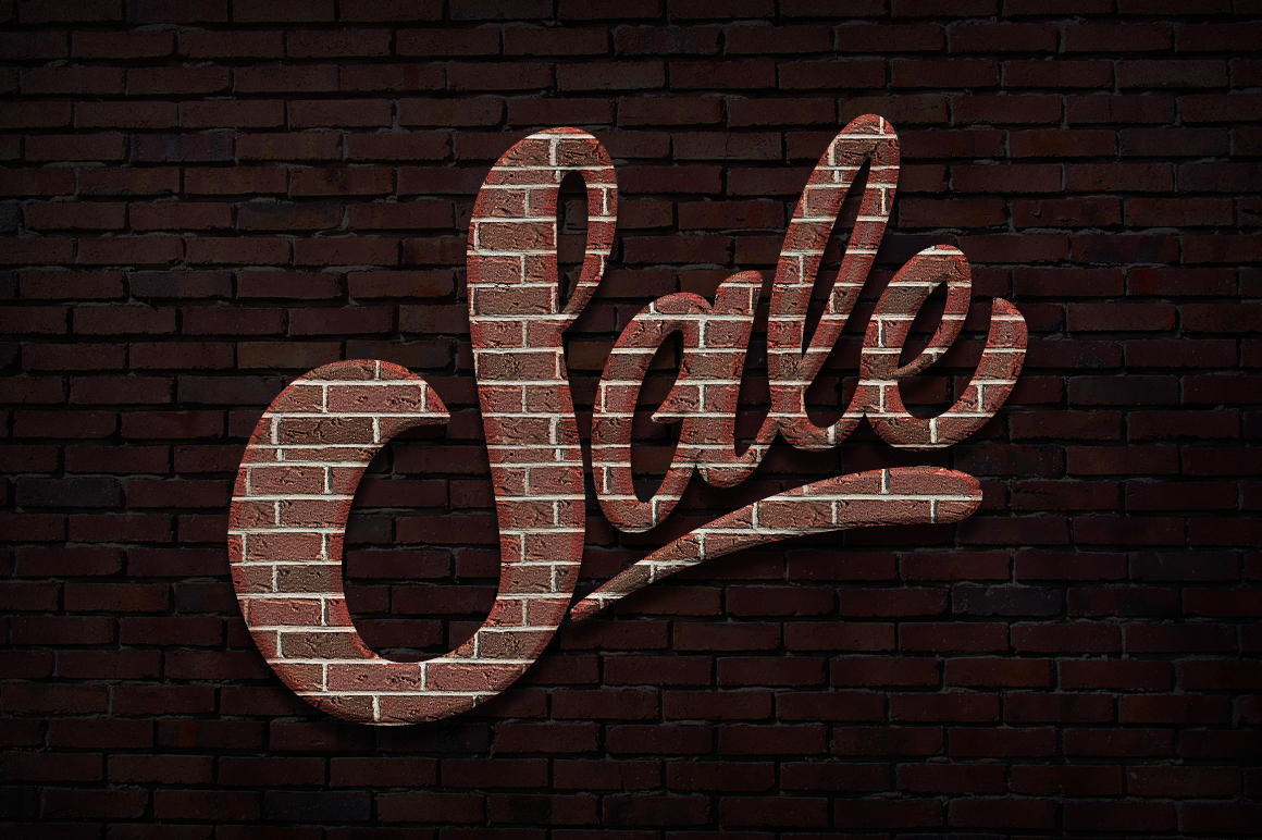 Brick text styles for photoshop layer styles on creative for Brick types and styles