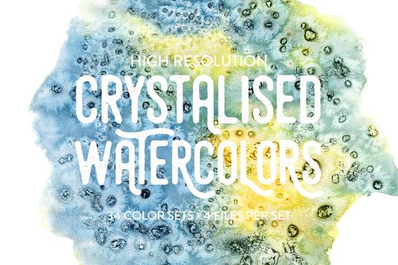 Crystalised Watercolors