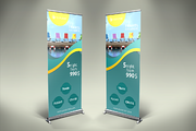 Travel Roll-Up Banner - v03-Graphicriver中文最全的素材分享平台
