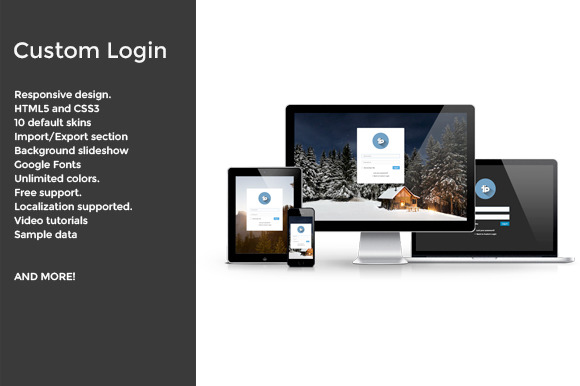 WIP C-Login WordPress plugin
