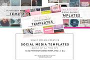 Blog Pinterest Banners Bund-Graphicriver中文最全的素材分享平台