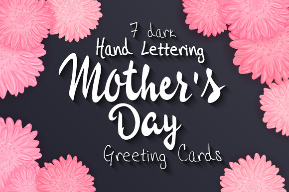 Set Of Mother S Day Greeting Cards