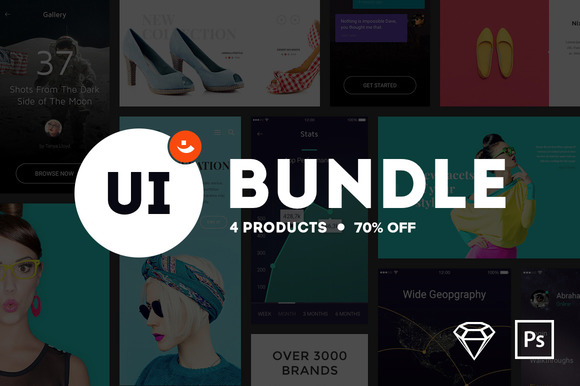UI Bundle From PixelBuddha {70% OFF}