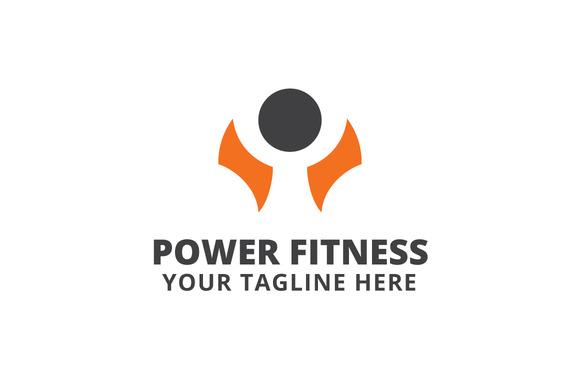Power Fitness Logo Template