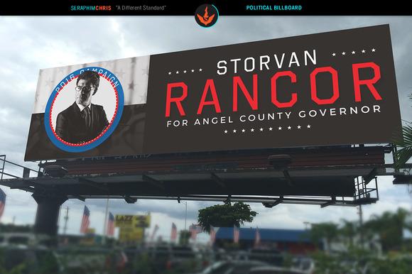 Political Billboard Template