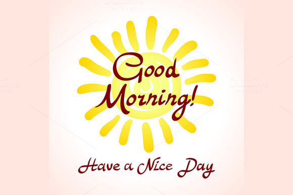 Have a nice day. Good morning - Graphics
