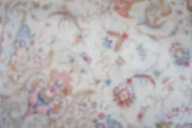 Persian Rug Bokeh 3 Abstract Photos On Creative Market