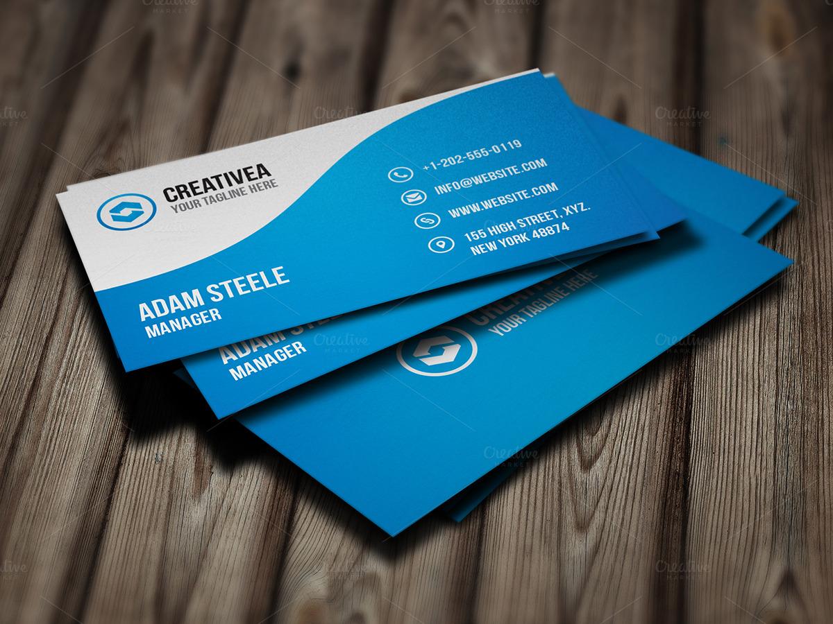 Creative business card business card templates on for Creative business cards templates
