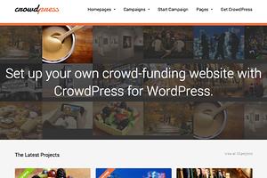 CrowdPress Crowdfunding Theme