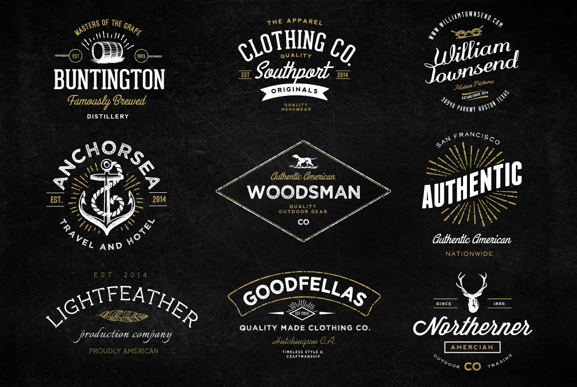 Retro Vintage Logo Design