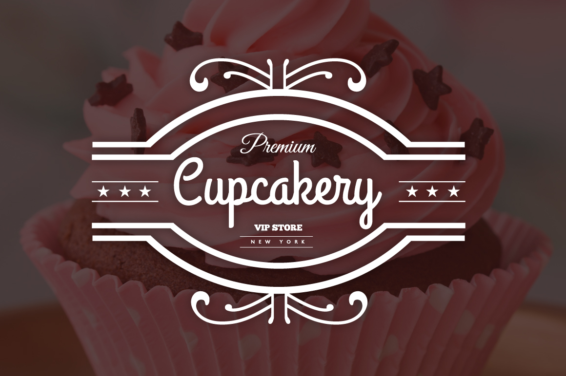 15 Bakery, Cupcakes & Cakes Logos ~ Logo Templates on ...