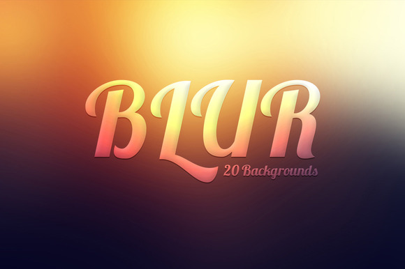 Blur Backgrounds Pack
