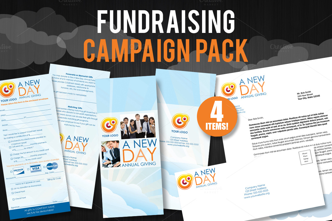fundraising brochure template fundraising campaign pack brochure templates on creative