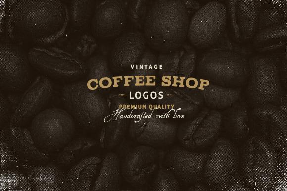 Coffee Shop Logo Vector Vintage Coffee Shop Logos