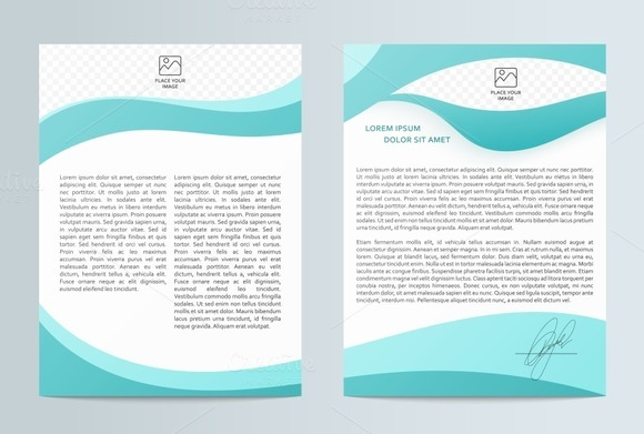 Business brochure. Flyer design - Objects