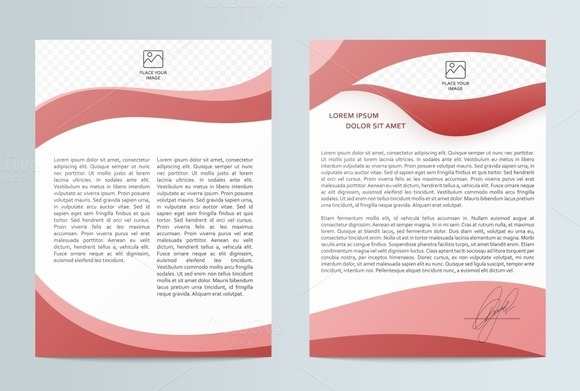 Business brochure. Flyer design - Objects