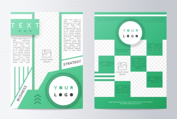 Business brochure. Flyer design. - Product Mockups