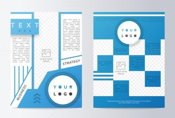 Business brochure. Flyer design - Product Mockups