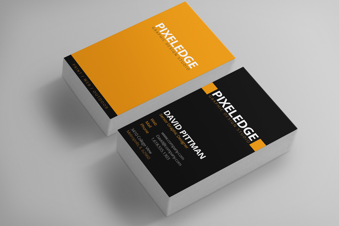 Graphic designer business cards business card templates for Product design business