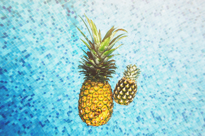 Floating Pineapples - Food & Drink
