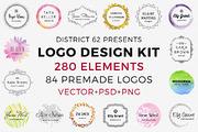 D62 Logo Design Kit-Graphicriver中文最全的素材分享平台
