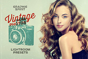 Vintage Photos Lightroom Pr-Graphicriver中文最全的素材分享平台