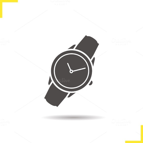 Wristwatch icon. Vector - Icons