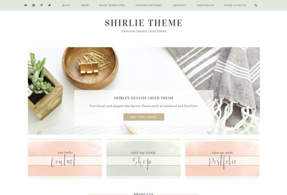 Ecommerce feminine genesis theme Shi - Commerce
