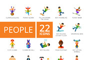 People Icons Set-Graphicriver中文最全的素材分享平台