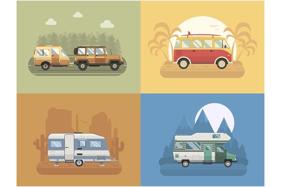 Rv Travel Collection Vol. 2.01. - Illustrations