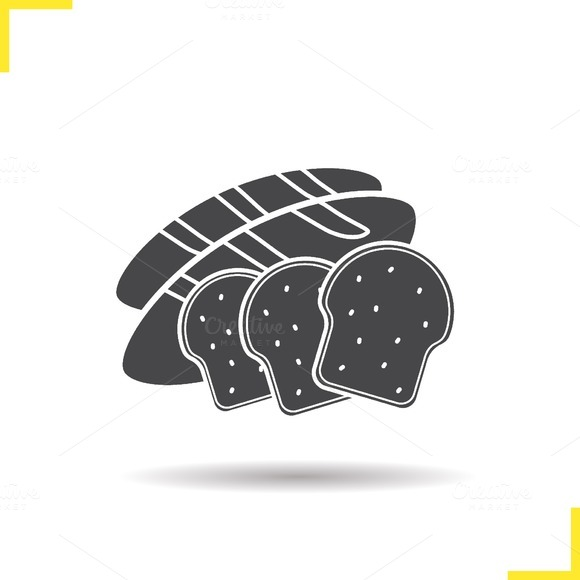 Bread icon. Vector - Icons
