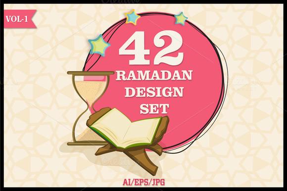 Ramadan Kareem Design Set Vol 1