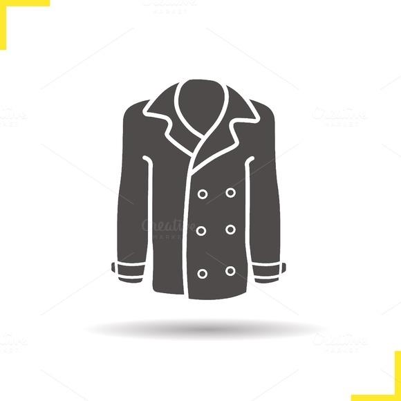 Coat icon. Vector - Icons