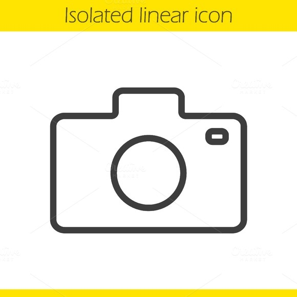 Camera icon. Vector - Icons