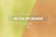 20 Color Grunge Texture-Graphicriver中文最全的素材分享平台