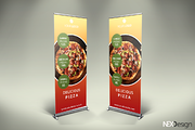 Pizza Roll-Up Banner - v39-Graphicriver中文最全的素材分享平台
