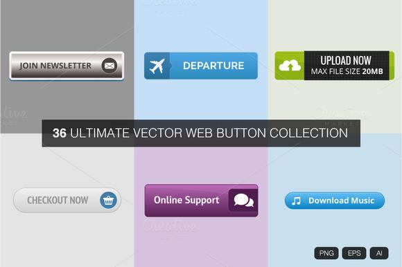 Ultimate Vector Web Button