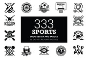 333 Sports Logo Designs and-Graphicriver中文最全的素材分享平台