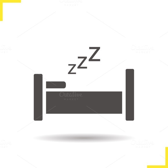 Bed icon. Vector - Icons