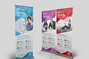 Multipurpose Roll Up Banner-Graphicriver中文最全的素材分享平台